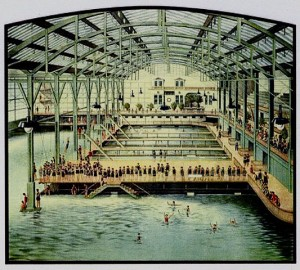 Image of Sutro Baths Postcard from the turn of the century
