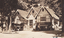 Image of Rio Nido Tudor Lodge in 1920's