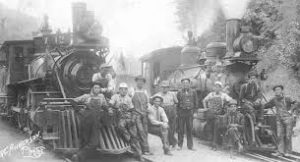 Image of 1915 freight train