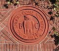 Image of Bohemian Club-inscription
