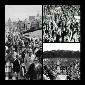 image of 1969 peace march and rally
