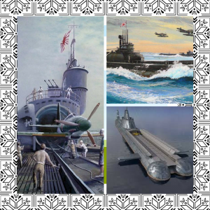 image of submersible aircraft carrier