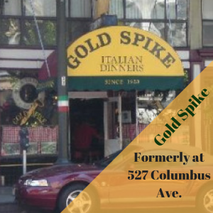 image of Gold Spike restaurant in San Francisco