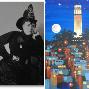 images of Lillie Coit and Coit Tower