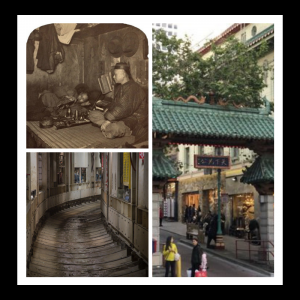 images of secret tunnels of Chinatown