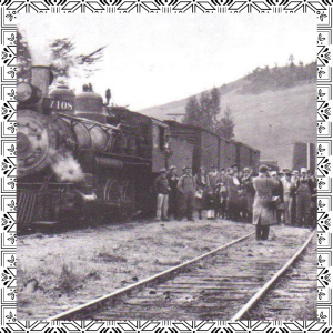 image of last train along the Russian River