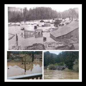 photos of Russian River floods