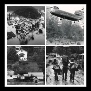images of 1986 Russian River flood