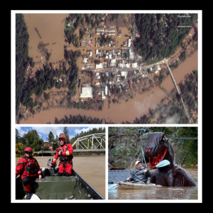 photos of 2019 Russian River flood
